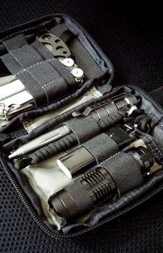 EDC Pocket dump in Maxpedition Mini Pocket Organizer - Everyday Carry Gear