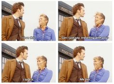 the Doctor and Rose *whimper* <\3 I MISS THIS SO MUCH AND NOTHING CAN BRING THIS BACK