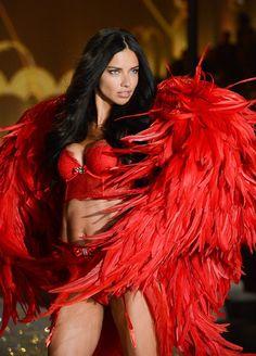 Adriana Lima at 2013 Victoria's Secret fashion show