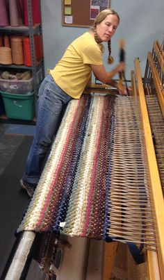 Aurora weaving.