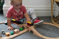 Wooden toys and enco