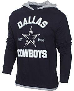 Dallas Cowboy Mens Allegiance Jersey Hoody Tee Shirt $31.95