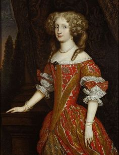 Eleonore of Pfalz Neuburg - in Western European fashion - Wikipedia Baroque Fashion, European Fashion, Historical Costume, Historical Clothing, Mme Bovary, Mode Baroque, Kunsthistorisches Museum Wien, 17th Century Fashion, Brocade Dresses