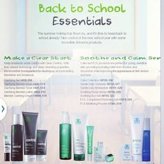 If you've got teens heading back to school any day now, Arbonne offers some fantastic products which treat skin as it should be treated! So if you'd like to treat them, text me a message with their skin conditions and I can recommend a product range to suit that won't break the bank. Whitneyparr.Arbonne.com
