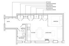 Prospect Heights renovation floor plan