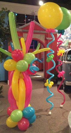 Balloon columnas