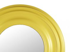 Orbit Circular Mirror - Ochre