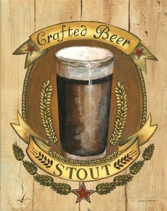 Crafted Beer Prints by Gregory Gorham at AllPosters.com