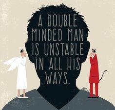 GOD - double minded men