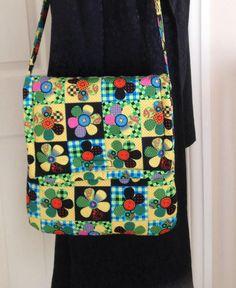 Retro Messenger Bag Fabric Messenger Bag Retro Shoulder Bag