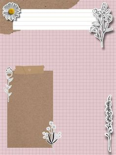 Paper Background Design, Powerpoint Background Design, Collage Background, Flower Background Wallpaper, Bullet Journal Lettering Ideas, Bullet Journal Art, Instagram Frame Template, Photo Collage Template, Notes Design