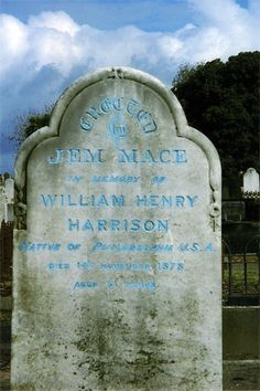 William Henry Harrison Marker: