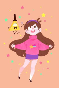 Art by 냐니이이 (@gravity_cam) | Gravity Falls — Mabill | Twitter