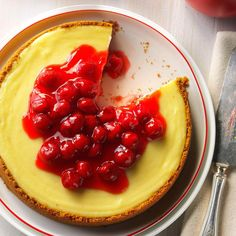 Ricotta Cheesecake Recipe -When I was a nurse, my coworkers and I regularly swapped recipes during lunch breaks. This creamy cheesecake was one of the best I received. Ricotta Cheesecake, Cheesecake Recipes, Dessert Recipes, Olive Garden Cheesecake Recipe, Recipes Dinner, Cheesecake Deserts, Holiday Recipes, Dinner Ideas, Breakfast Recipes