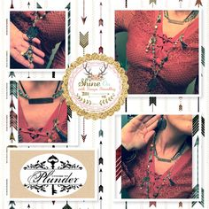 Vintage inspired jewelry keepsake and custom pieces get urs at plunderdesign.com/tonya Affordable custom pieces fashion on trend Chic, bohemian, inspirational Christian inspired, bold statements, pearls, simple we have it