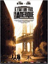 Once Upon a Time in America- Sergio Leone (1984).David Aaronson, «Noodles », au soir de sa vie, revient à NY et se souvient. Il contemple d'un regard désabusé,  sa vie manquée.  Sa jeunesse délinquante dans le Lower East Side, ghetto juif des années 1920, et surtout Max, son ami de toujours. Leur ascension dans la pègre grâce au trafic d'alcool. Il se rappelle aussi la violence, la sombre période de la Prohibition, les meurtres, et le projet de casse de la Réserve fédérale des États-Unis…