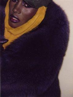 Grace Jones by Andy Warhol.  HAIL!