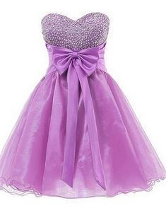Homecoming Dresses,Sweetheart Graduation Dresses with Bow,Homecoming Dress,New Design