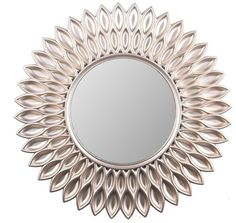 Wee's Beyond Sunflower 24-inch Decorative Wall Mirror  | eBay