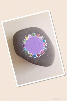 Dot art stone https://www.facebook.com/willabeesdesigner