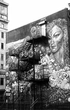 Northern Quarter Grafiti Arts in Manchester