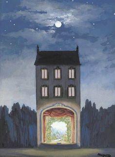 """René Magritte """"The house"""" (1947)"""