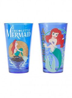 The Little Mermaid Ariel pint glasses set from Hot Topic