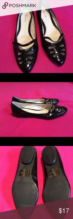 Torrid Patent Leather Ballet Flats Great pair of gently used Flats, Size 8W Torrid Shoes Flats & Loafers
