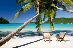 Relax on one of many sandy white beaches while enjoying the absolute serenity of St. Croix