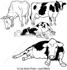 sleepings cows illustrations - Google Search