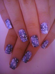 galaxy nails.....gorgeus