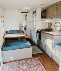 #vintagecamper on pinterest Furniture, Home, Remodel, Storage Bench, Inspiration, Renovations, Rv Remodel