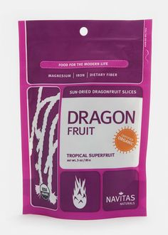 Organic Dried Dragonfruit