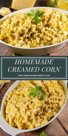 Cheese Corn Side