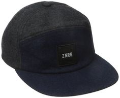 brand new 2605b 46640 Zanerobe Men s 6-Panel Two-Tone Cap Baseball Cap, Menswear, Dress Skirt