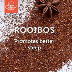Rooibos promotes better sleep