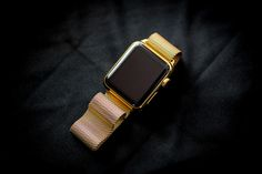 We caught up with a London company to see how they add gold-plating to the Apple Watch for an extra bit of bling.