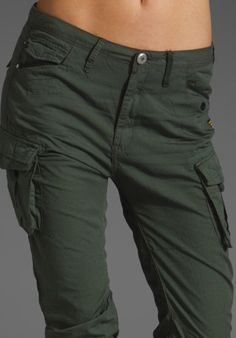 G-STAR RAW DENIM WOMEN S ARCTIC ROVIC STRAIGHT CARGO WING GREEN AUTH. SIZE 28/32