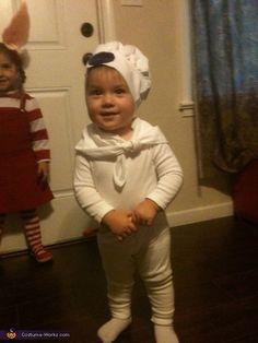 Pillsbury Doughboy - DIY Halloween costume