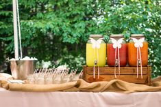 Adorable party beverage station! #party #kidsparty