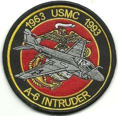 USMC A-6 Intruder 1963-1993 Patch