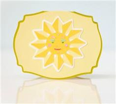Bring a little sunshine into someone's life with this bright and happy card!