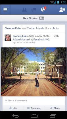 facebook app design - Google 검색