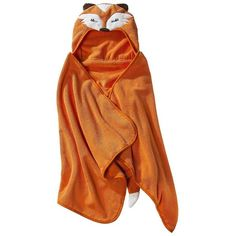 Circo Fox Hooded Towel ($15) ❤ liked on Polyvore featuring hooded towels and kids' bath