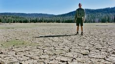 California dryin' on such a summer's day. Crossing my fingers for that mythical El Niño I keep hearing predictions of. Thanks for the snap in the drought stricken wilderness @chicospy. PS. this is a lake bed.  by amar.puri