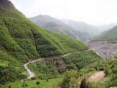 Chaloos road , Iran