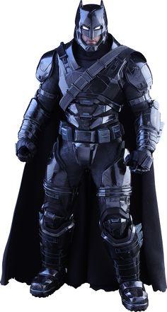 Hot Toys Armored Batman Black Chrome Version Sixth Scale Figure