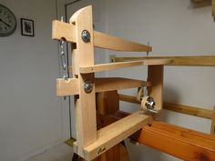 photo of scroll saw from the back