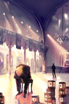 Kurapika and Chrollo Lucifer Hunter x Hunter (Favorite art) Beautiful