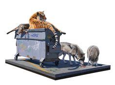 Incredible Surreal Wild Animal Illustrations by Josh Keyes